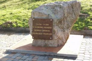 pomnik upamiętniający Uniwersał Połaniecki