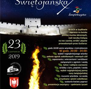 23 czerwca 2019 Noc Świętojańską w Szydłowie