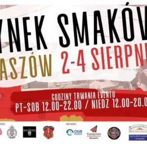 Festiwal Food Tracków w Staszowie 2-4 sierpnia 2019