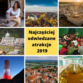 Najchętniej odwiedzane świętokrzyskie atrakcje - mamy podsumowanie za 2019 rok