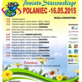 Piknik Ekologiczny Powiatu Staszowskiego 16 maja 2015
