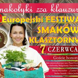 II Europejski Festiwal Smaków Klasztornych 7 czerwca 2015