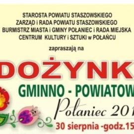 Dożynki Gminno-Powiatowe w Połańcu
