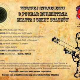 Turniej Strzelecki w Staszowie 1 października 2016