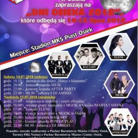 Dni Osieka 14-15 lipca 2018