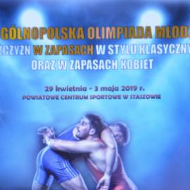 XXV Ogólnopolska Olimpiada Młodzieży w zapasach 29.04-3.05 2019 r.