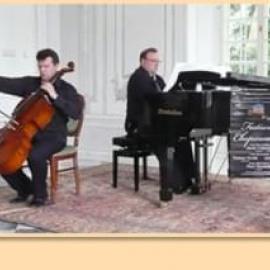 """Koncert w Europejskim Centrum Bajki w Pacanowie w ramach projektu """"Świętokrzyskie czaruje Chopinem""""."""