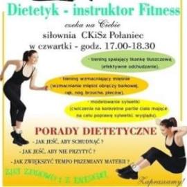 Dietetyk -Instruktor Fitness czeka na Ciebie