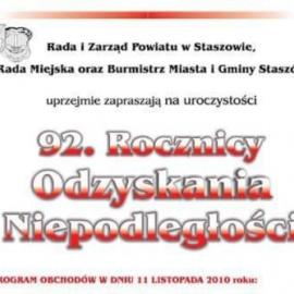 11 listopada w Staszowie