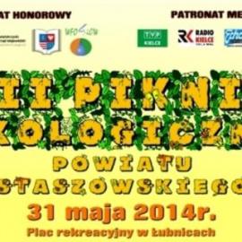VII Piknik Ekologiczny Powiatu Staszowskiego 31 maja 2014
